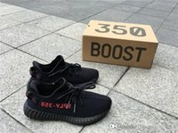 Wholesale Mens Winter Boots Size 12 - 350 BOOST V2 FROZEN ELLOW CREAM CREAM WHITE CORE BLACK RED MENS SHOES CP9654 ZEBRA SNEAKERS SIZE 5-12