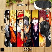 Gros-japonais Anime One Piece Charactors Customized Gaming Mouse Pad Livraison PC Mouse Computer Mat gratuit