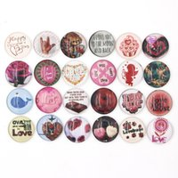 Cheap Clasps & Hooks snap buttons Best Glass Cabochon Button Everyday valentine snap buttons