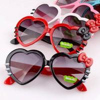 Wholesale Kids Glasses Frames Sales - High Quality Childern Sunglasses Kids Fashion Summer UV Protection Sunglasses For Sale Black Sun Glasses wholesale-0021GLS