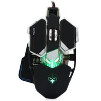 Wholesale Programming Games - Wholesale-G10 4000 DPI 10 Buttons 4 colors Professional Optical Mechanical Gaming USB Macro Programming Wired Computer Games Mouse