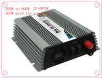 Wholesale Home Power Inverter - 600W DC22V~60V DC 110V-220V Wide DC Input Grid Tie Micro Inverter for home or Wind Power System