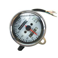 Speedometer speedometer tachometer - Motorcycle Bike Refitting Tachometer Gauge Speedometer with LED Backlight