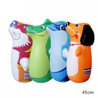 Wholesale Outdoor Vents - Children Iinflatable Toys Outdoor Sports Toys Animal Shapes Tumbler 45cm Strange New Balloon Class Vent Toys