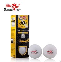 Wholesale Pingpong Balls - Wholesale- 6-12 balls Double Fish New material 3 star 40mm+ Pingpong Balls Table Tennis Balls 82002