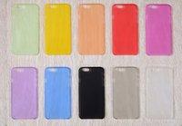 yumuşak hücrenin telefonunu toptan satış-Cep Telefonu Şeker Durumlarda iPhone 7 Iphone7 I7 7G 7gen 7th 7th Ultra İnce Temizle Kristal Şeffaf Yumuşak TPU Silikon Jel Arka Kapak
