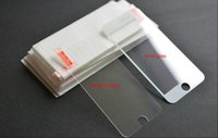 Wholesale Matte Glasses - 2.5D Tempered Glass For iphone 6S 6 plus iphone 5S 5c Galaxy S7 S6 S5 Note 5 4 3 Screen Protector With 0.26mm Explosion Proof Film