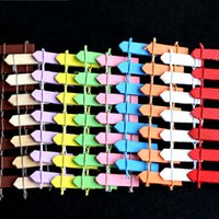 Wholesale Mini Gemstones - Mini Little Fence Craft Miniature Fairy Garden Decorations Wooden Resin DIY Palings Multi Colors 0 3qp C R