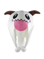 Wholesale League Legends Costumes - 2014 New Free Shipping Game League of Legends LOL Howling Abyss ARAM Poro Lovely Plush Hat Beanie One Size