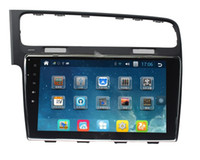 Wholesale High Definition Jpegs - For VW-Golf 7 2012 10.1 inch super screen with Android system Special Car DVD Player with GPS, IPOD, Bluetooth, High definition screen