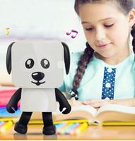 jogador bonito venda por atacado-Mini dança do bluetooth speaker super cute portátil estéreo sem fio music player speakers para iphone x 8 plus 7 plus samsung com caixa de varejo