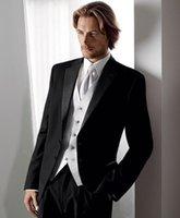 Wholesale Shiny Black Jackets For Men - Wholesale-2015 High Quality Man Suit Classic italian clothing for men shiny suits for men mens tuxedo jacket BM603
