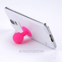 Wholesale Suction Ball Holder - Wholesale Ball Suction Silicone Rubber Stand Holder for iPhone 6 6S Plus SE 5S 4 4S &other all cellphones holder