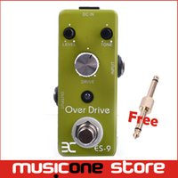Wholesale Music Pedals - Eno Music EX Micro OD-9 ES-9 Classic Over Drive Guitar Effect Pedal Metal Shell Tc17 Free connector MU0132