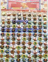 Wholesale Toy Story Wholesale Clothing - 25MM Toy Story 3 badges Novelty Cartoon Backpack Decorations Clothing Accessories Kid Gift Pin Badge 1080 pcs lot Free Shipping