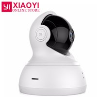 [International Edition] Telecamera dome YI 720P Pan / Tilt / Zoom Videocamera IP wireless Xiaomi YI Baby monitor a infrarossi per visione notturna