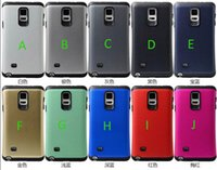 Wholesale S3 Military Case - hybrid Armor dot combo shockproof military robot case cover skin shell for Samsung Galaxy S3 S4 S5 Note4 heavy duty fashion case