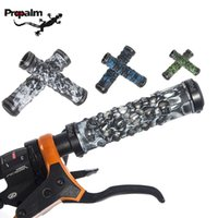 Wholesale Propalm Grips - 2014 New PROPALM Skull Design TPR Rubber Double Side Lock-on MTB Fixed Gear Bike Bicycle Handlebar Cycling Cycle Grips,6Color