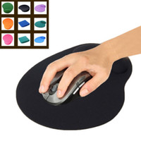 Wholesale Wrist Support For Computer - Wholesale-New High Quality Economic Thin Wrist Support Cloth + EVA Mouse Pad Mice Mat for Computer