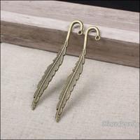 Wholesale vintage bookmark accessories resale online - Vintage Charmsl Bookmarks alloy Pendant Antique bronze Metal Fits Bracelets Necklace DIY Jewelry accessories Finding mm