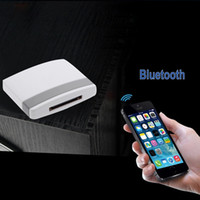 Wholesale Bluetooth Dock Receiver - Music Receiver Adapter for iPad iPod iPhone 30Pin Dock OVC3860 Stereo Sound Chip A2DP Bluetooth Audio Receiver V902