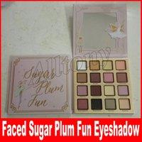 Wholesale Fun Long - Faced Makeup Sugar Plum Fun Eye Shadow Palette 16 Color Matte and Shimmer Shades Eyeshadow Fairy set Makeup Maquiagem Highlighter Palette