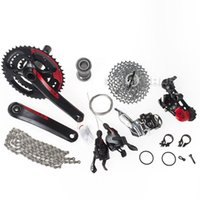 Wholesale Road Bike Group Sets - New 2013 X9 X.9 MTB Groupset Group Set 7pcs 10-speed for SRAM