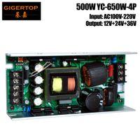 Wholesale china output - TIPTOP YC-650W-4P 330W 350W Moving Head Spot Beam Light MF-650 12V 24V 36V Power Supply China Manufacturer 3 Output Screw Socket