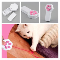 Wholesale Funny Exercise - Funny Cat & Dog's Play Toy Interactive Beam Automatic Electronic Laser Pointer Exercise Toy Accessory Free Shipping