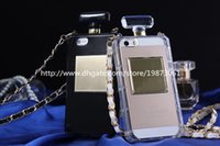 caja de la botella de perfume para samsung galaxy al por mayor-Para Iphone 6 casos Botellas de perfume de TPU Diseño para Apple Iphone 4s 5s 6 Plus Samsung Galaxy Note4 Note3 S5 S4 S6