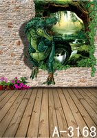 200CM * 150CM Jurassic Mondo Muro sfondi 3D Studio 3D backgrounds bambino in studio