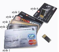 Wholesale American Usb - 2015 2GB 4GB 8GB 16GB 32GB 64GB 128GB 256GB American Express Credit Card Shape USB Flash Drive Pen Drive Memory Stick