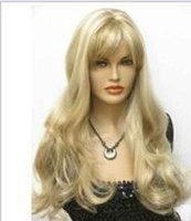 Wholesale Healthy Sexy Hair - Wig can hot dye>>>>sexy long Blonde mixed Healthy hair Wig wigs for women