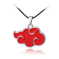 Wholesale Around Love Pendant - 2016 Rushed Top Fashion Pendant Necklaces Middle Eastern Gift Style Animation Around Red Cloud Necklace Wholesale Naruto Knows Organization