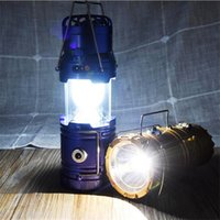 Wholesale Fan For Camping - Summer LED Solar Power Outdoor Camping Lamp with Fan Hanging Portable Tent Telescopic Emergency Lamp Hand Lantern Light For Outdoor Hiking