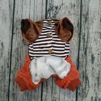 Wholesale Cashmere Dog Sweaters - Autumn and winter with thick cashmere sweater dog Tactic sweater clothing pet Pomeranian poodle feet warm clothes