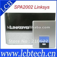 trasporto libero di gateway di marca SPA2002 <b>Linksys Sip</b> nuovo 5pcs / lot