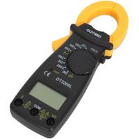 amp box venda por atacado-DT3266 Multímetro Digital Clamp Meter Eletrônico LCD AMP Tester Clip-on Medidor de Tabela Com Caixa de Varejo