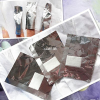 Wholesale Nail Lack - free shipping 200pcs gel lack off wraps removal aluminum foil paper with cotton for soak off gel nail polish remover