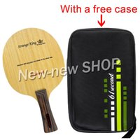 Wholesale Fl Cover - Wholesale- 61second Strange King Table Tennis PingPong Blade with a free Cover Long Shakehand FL
