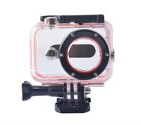 Wholesale Camera Holder Bike - Wholesale-Accessories For Xiaomi Yi Camera Waterproof Case For Xiaomi yi Monopod Bike Holder Set for Xiaomi Yi Action Camera Accessories