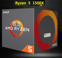Dacentrurus AMD Ryzen 5 4-х ядерный процессор 1500X Интерфейс AM4 8Threads Socket AM4 3.5GHz TDP 65W 18MB Cache 14nm DDR4 Desktop YD150XBBM4GAE