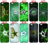 Wholesale Star Mini S4 - Dallas Stars For iPhone 6 6S 7 Plus SE 5 5S 5C 4S iPod Touch 5 For Samsung Galaxy S6 Edge S5 S4 S3 mini Note 5 4 3 phone cases