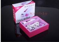 Wholesale Derma Roller Photons - DNS REVO Galvanic Photon Micro Needle Roller Biogenesis led derma roller with ionotherapy BIO mesotherapy Colour light phonton