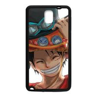 One Piece Luffy Cool pour samsung s5 note2 n7100 note3 n900 pour samsung note4 étui en plastique dur pour téléphone cellulaire