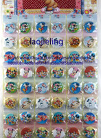 Wholesale Kids Novelty Backpacks - Wholesale 10 sheets 480 pcs 3 cm,Novelty Cartoon Backpack Accessories Mickey Mouse Minnie Badges Kid Cartoon Buttons Pins Badges,Kids Party