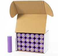 Wholesale E Cigarette Rechargeable - Perfect-Quality Lithium Battery VTC3 VTC4 VTC5 18650 battery for e cigarette mod e cig 18650 3.7V 1600mAh 2100mAh 2600mAh DHL Shipping