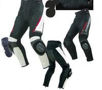 Wholesale Motorcycle Pant Mesh - Wholesale-new model Komine PK-717 motorcross Sports Riding Leather Mesh Pants Motorcycle pants Size: S - 3 xl ( free shipping)