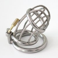 Wholesale Hot Adult Men - Male Chastity Belt Stainless Steel Metal Chastity Device Alternative Stimulus Sex Supplies Hottest Adult Sex Toys For Men