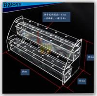 Wholesale Acrylic Cup Cake Stand - 32 hole 2 Layer Acrylic Base Cake Pop Lollipop Display Stand Hodler Base Shelf